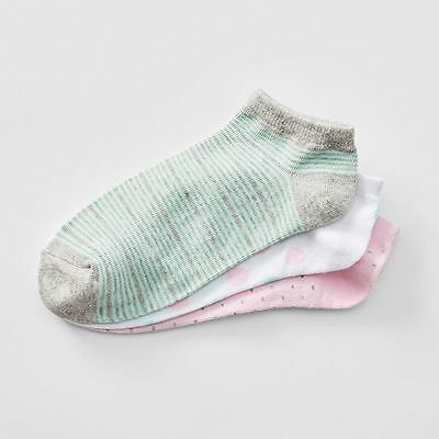 NEW 3 Pack Fashion Low Cut Socks Kids