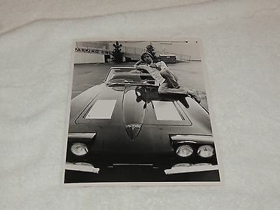Bob Weir - 8 x 10 Original Photo Print - Lounging on Car - Cool and Rare!