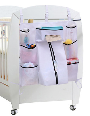 Sleeping Lamb Baby Nursery Organizer Hanging Playard Diaper Caddy for Clothing,