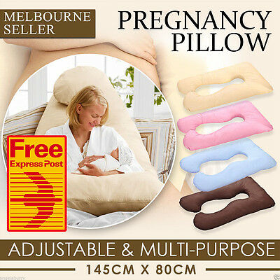 (Free Express) Maternity Pillow Pregnancy Nursing Sleeping Body Boyfriend