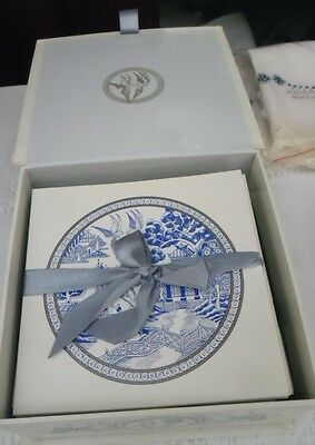 Blue Willow Box 24 Cards And Envelopes. Mallon Publishing Melb 2003