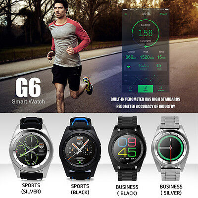 NO.1 G6 Smart Watch Sport Bluetooth 4.0 Heart Rate Monitor for android and IOS