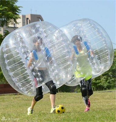 1.5M Body Inflatable Gum Bumper Football Zorb Ball Bubble Soccer  FAST SHIP 1pcs