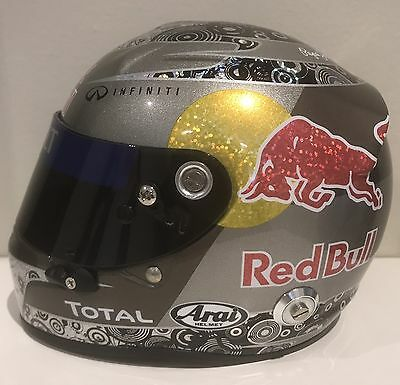 2010 Sebastian Vettel 1:2 Scale Helmet Red Bull Racing