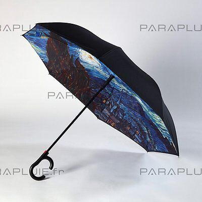 Parapluie inversé-Motif « Starry Night » ORIGINAL