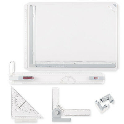 PRO A3 Drawing Board Table Tool w/ Parallel Motion & Adjustable Angle Drafting