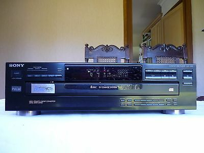 Sony 5 Disc Multichange CD Compact Disc Carousel Player CDP-C345