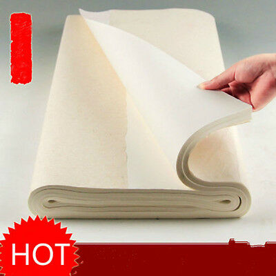 100* Chinese Calligraphy Painting Rice Paper Sumi-E Xuan Paper Art Writing Tool