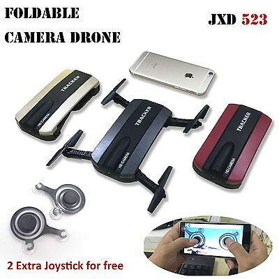 Foldable 6-Axis Hover Quadcopter Phone Contro Selfie WIFI 720P FPV Camera Drone