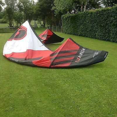 Airush vantage VXR 18m kitesurfing Kite ,kite Only + Bar Option