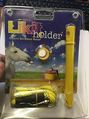 Yellow Likit Holder