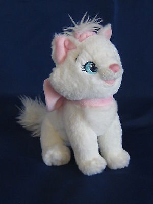 Disney Aristocats Marie The Cat 7 Inch Beanie Soft Toy