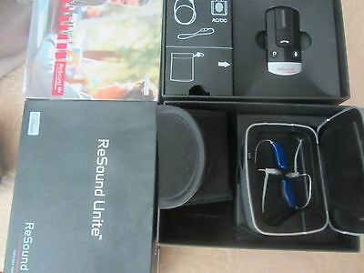 Resound LiNX2 5 Hearing Aids one Pair left right ears iPhone LS561-DRW