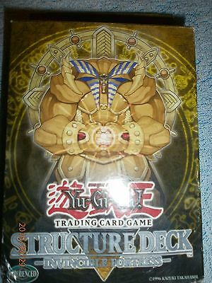 """YU-GI-OH INVINCIBLE FORTRESS. NEW/ SEALED COMPLETE SET .  ^.^ ^ω^ o_o"""" T︵T  >_<"""