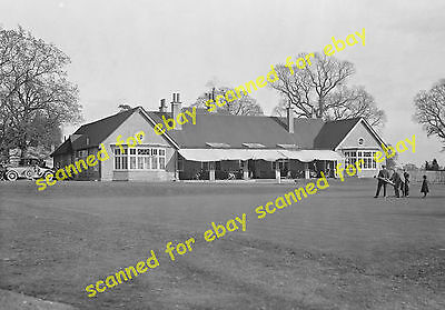 Photo - Edgware Golf Club House, June 1929 (2)