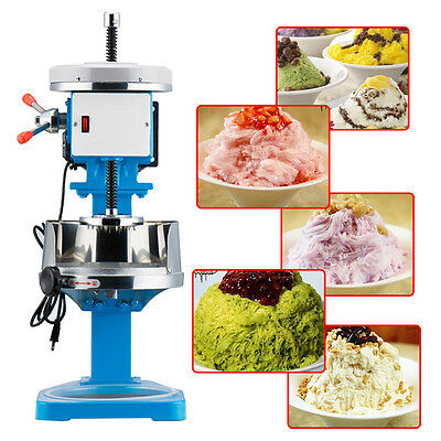 Snow Maker Shaved Ice Plum Flower Brand Machine Electric Crusher 138W 220V