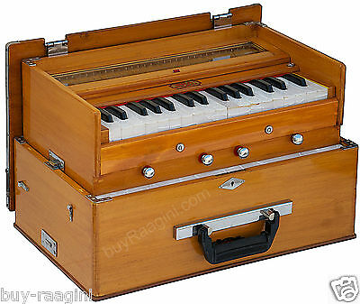 Harmonium Bina No.23 B Deluxe Small Folding/teak Color/32 Key/2½/bag/book/daa-1