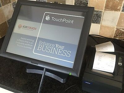 icr Touch, J2 EPoS Terminal mint condition.