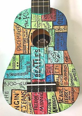 Sopran Ukulele Sondermodell Beatles Liverpool Cavern Club - The Wall |cc