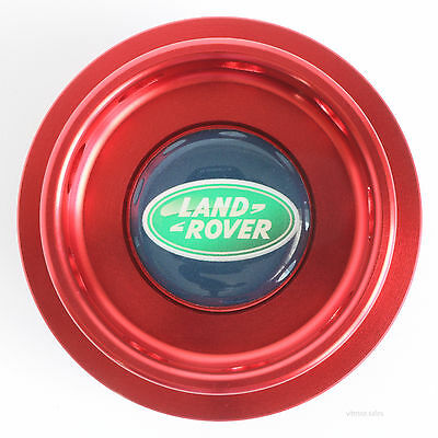 Land Rover Freelander Oil Filler Cap Red Anodised Aluminium for K Series Engine