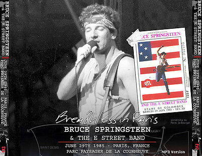 BRUCE SPRINGSTEEN - PARIS 1985 3 cds