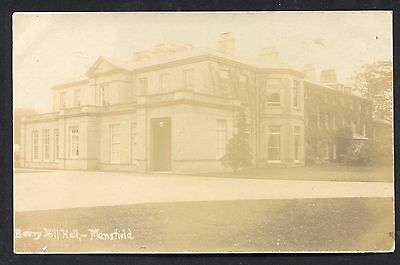 Mansfield Berry Hill Hall (RP 1905) Notts