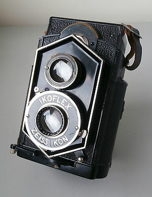 "Rare Zeiss Ikon Ikoflex 850/16 ""Coffee Can"" TLR Camera with Novar 8cm f4.5 Lens"