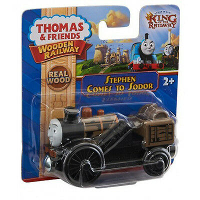Fisher Price Thomas & Friends Wooden Railway Stephen Comes To Sodor Train Y8785