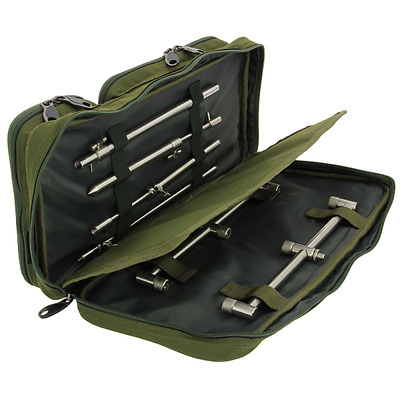 Ngt Buzz Bar Bag Bite Alarm Rod Rests Pouch Bag Holdall Pike Carp Fishing Tackle