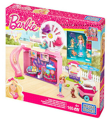 Mega Bloks Barbie Puppy Adventure Festival Doll Playset Brand New In Box Cnf98