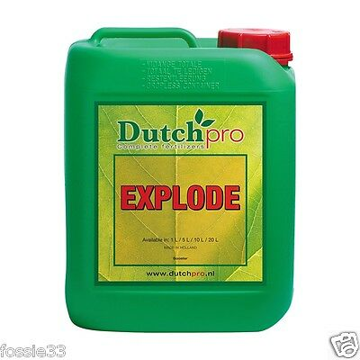 Dutch Pro Explode Pk Bloom Boost Stimulator Hydroponics 5 Litre