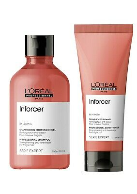 Loreal Inforcer B6 + Biotin Strengthening Shampoo 300ml and Conditioner 200ml