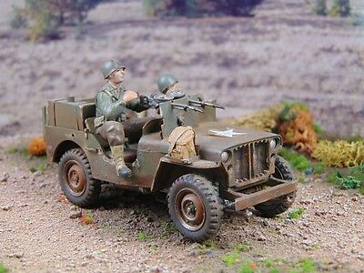 """1/35 gebaut/built - US Army - US Willys Jeep """"Long Distance"""""""