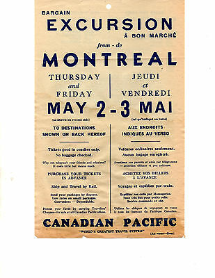 Canadian Pacific Railway Poster ( Offer 1717)