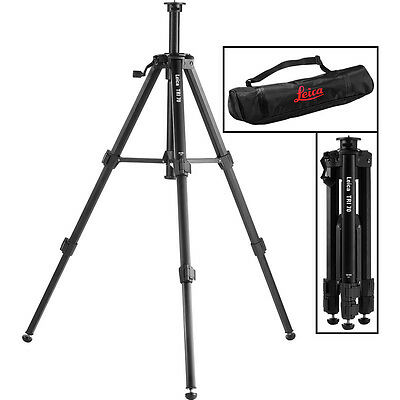 Leica TRI 70 1/4in Thread Aluminum Mounting Tripod 40-115cm Laser Or Camera
