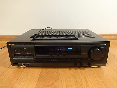 Technics SA-EX300 5.1ch A/V Control Stereo Receiver TESTED 100% Works Great!