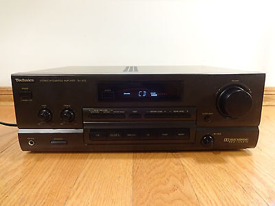 Technics SU-G75 Stereo Receiver Integrated Amplifier Japan 1995 TESTED 100% Nice