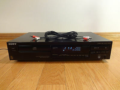 Sony CDP-291 Single CD Compact Disc Player 1991 Japan TESTED 100% Works Great!