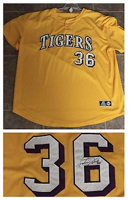 Austin Nola Signed Autographed LSU Baseball Practice Jersey Game Used Worn