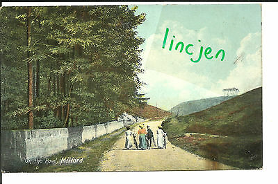 On the Road Milford RUGELEY  Postcard Staffordshire Agnes Greatback