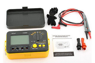 USA Seller VICHY VICI VC60B+ Digital Insulation Tester Megger MegOhm Meter
