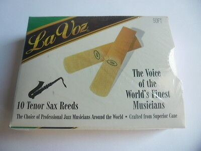 RICO LA VOZ - 10 Anches-reeds saxophone tenor - SOFT - NEW