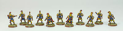 BLOOD BOWL LIMITED EDITION Black Scorpion HUMAN or HIGH ELF TEAM - Pro Painted