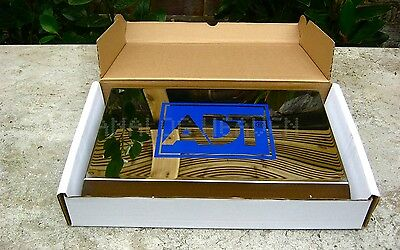 NEW☆ STAINLESS STEEL ADT Dummy Alarm Box ☆THE BEST!☆'PRESTIGE' SYSTEMS☆NO RUST!