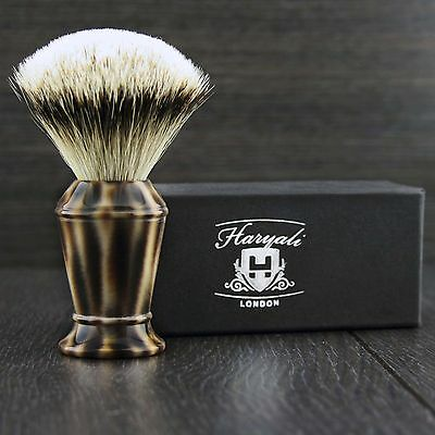 Silver Tip Badger Hair Shaving Brush It Won't Disappoint You!  Perfect Gift