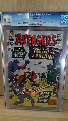 Avengers #15 CGC High Grade 9.2 Marvel Comics Investment