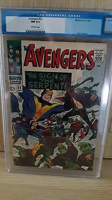 Avengers #32 CGC 9.4 Very High Grade Marvel Comics Investment