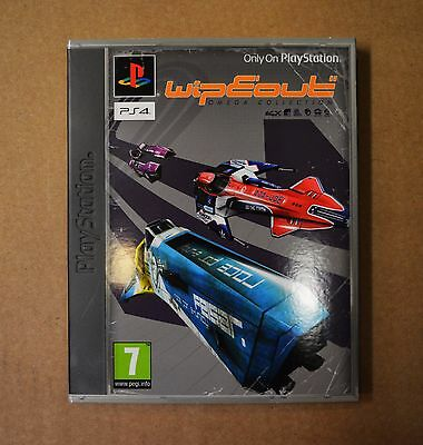 Official Retro Style Wipeout Omega Collection Slipcase - Not A Game - Uk Seller