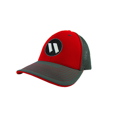 Worth Hat by Pacific 404M Graph/Graph/Red/Graph/blk/wh LG/XL (7 3/8-8), NEW