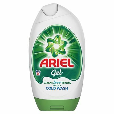 Ariel Regular Bio Actilift Concentrated Washing Detergent Excel Gel - 24 Washes